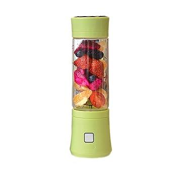YI HOME- Exprimidor eléctrico Totalmente automático de Vidrio doméstico portátil Mini máquina de Hielo USB