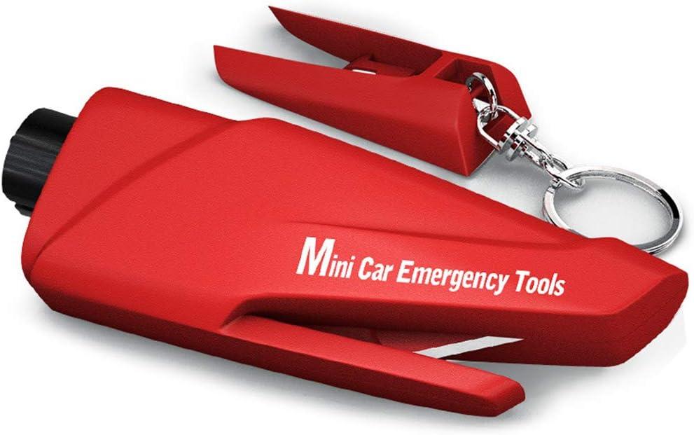Chizea Car Escape Tool Portachiavi Portatile in Vetro per Emergenza Terra e Subacquea Strumento di Salvataggio di Sicurezza per Auto. taglierina per Cinture di Sicurezza