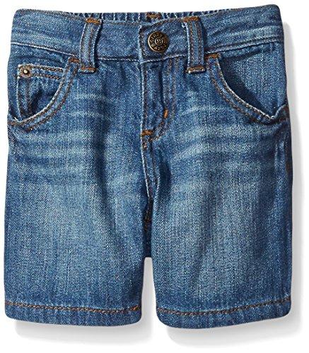 Crazy 8 Boys' Baby 5-Pocket Light Wash Denim Shorts