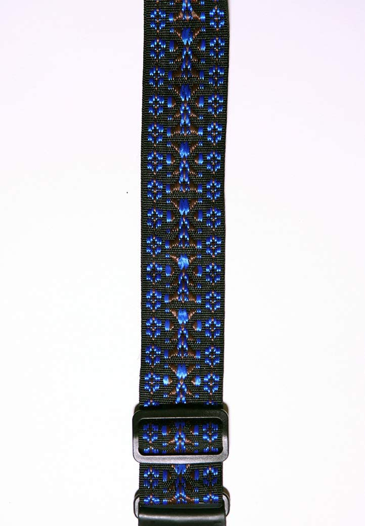 XP Brown and Blue Woven Camera Strap