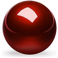 Perixx 55 mm Trackball - Fini Brillant - Vitesse - Compatible avec d'autres Souris Trackball - Rouge