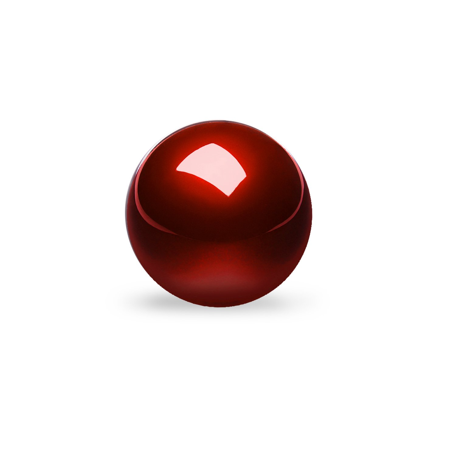 Perixx 18033 PERIPRO-304 2.17'' Trackball, Glossy Finish, Speed, Red, Compatible Mouse