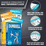 2-Pack Bodyweight & Dumbbell Workout Cards