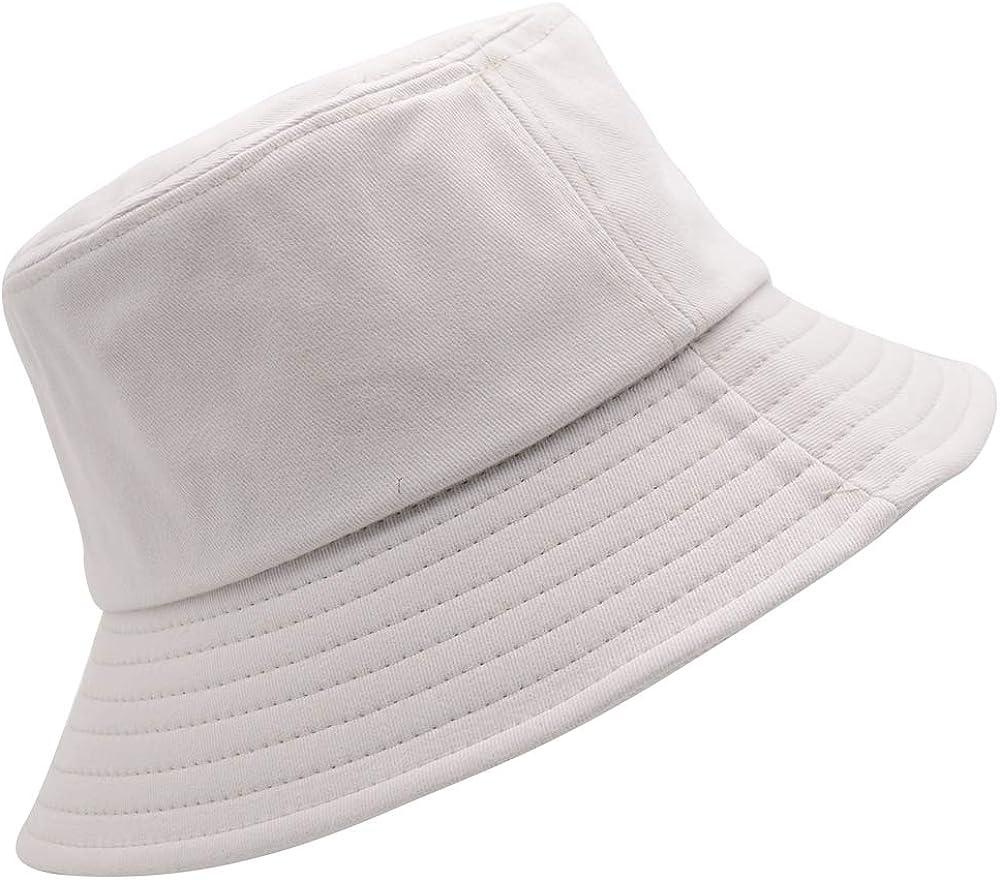 Smile Face Bucket Hat Unisex 100/% Cotton Summer Travel Bucket Beach Sun Hat Outdoor Cap