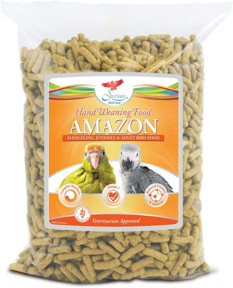 Scenic Hand Weaning Pellets for Amazons 2 lb by SCENIC