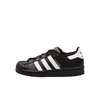 1e98092af3e ADIDAS Originals Superstar C Kinder-Sneaker BA8379 Black/White Gr. 30 (UK