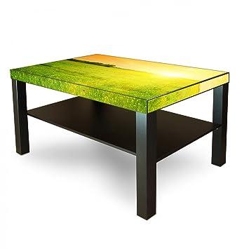 Amazonde Banjado Möbelaufkleber Ikea Lack Tisch Möbelfolie