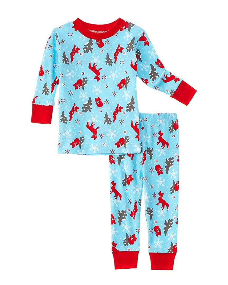 大注目 New Jammies SLEEPWEAR SLEEPWEAR ベビーボーイズ 2T Winter 2T Jammies Fox B01M65H8NR, チョウシシ:ffde4b3d --- a0267596.xsph.ru