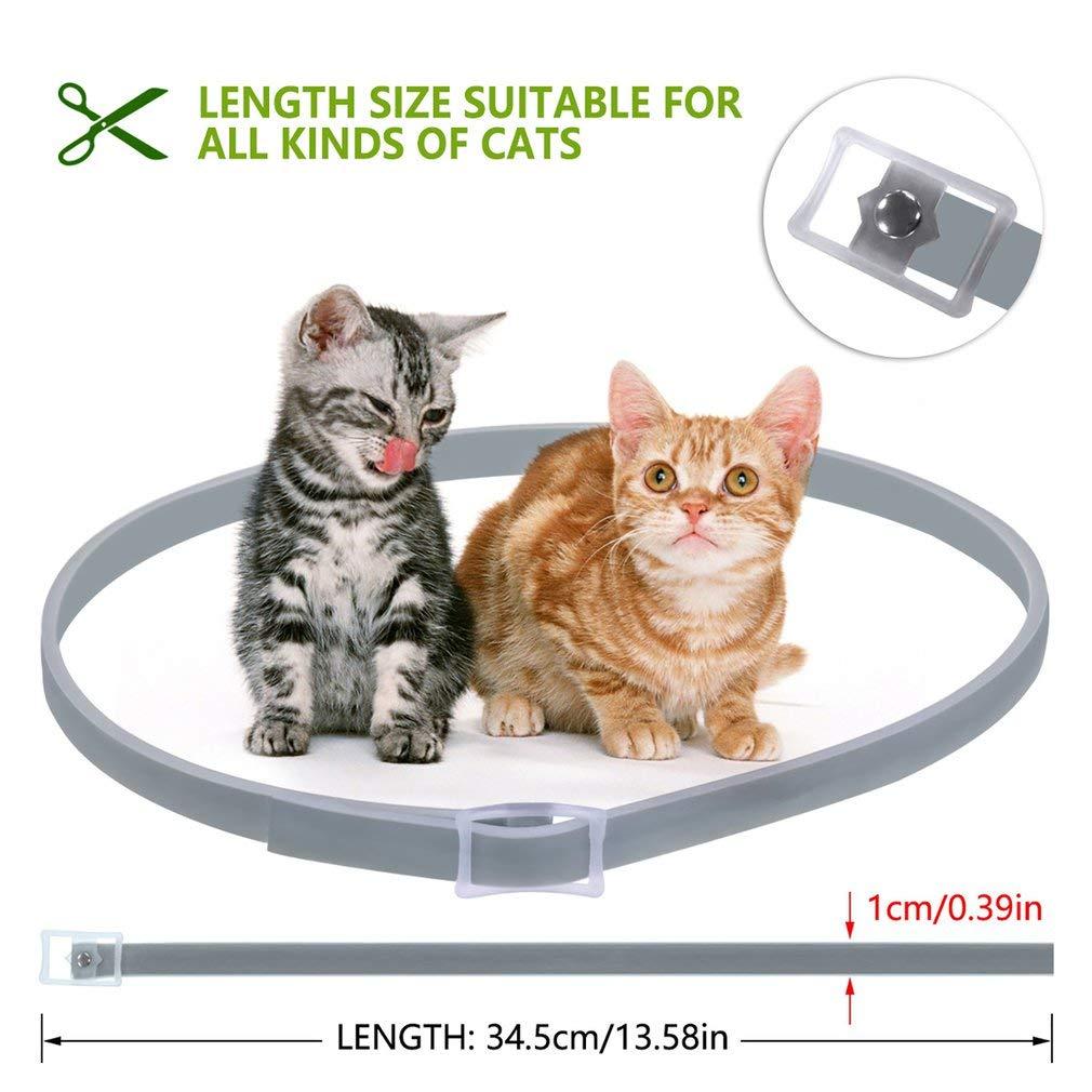 Pet Cat Natural Essential Oil Anti Flea Ticks Lices Mosquitoes Collars