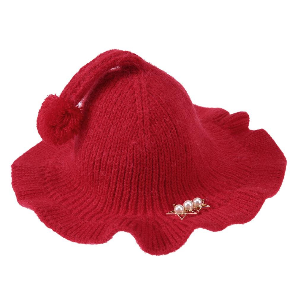 Chinatera Baby Kids Hat Wool Knitted Cap Soft Hats for Winter