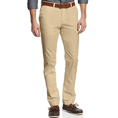 Tommy Hilfiger Mens Tailored Fit Chino (38 x 34, Mallet)