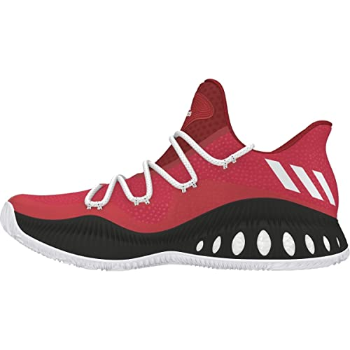 sale retailer b3206 203f9 adidas Crazy Explosive Low Shoe Men s Basketball 10.5 Victory Red-White