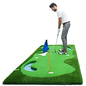LEI ZE JUN UK- Golf Putting Practice Manta de Ejercicio de ...
