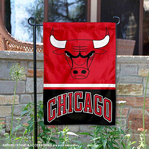 - Wincraft Chicago Bulls Double Sided Garden Flag