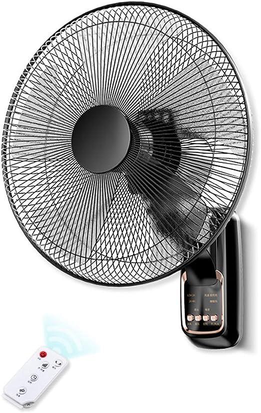 ZAQI Ventilador Pared Ventiladores de Pared con Control Remoto ...