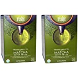 Rishi Tea - Organic Matcha Super Green Tea 15 Bags Pack of 2