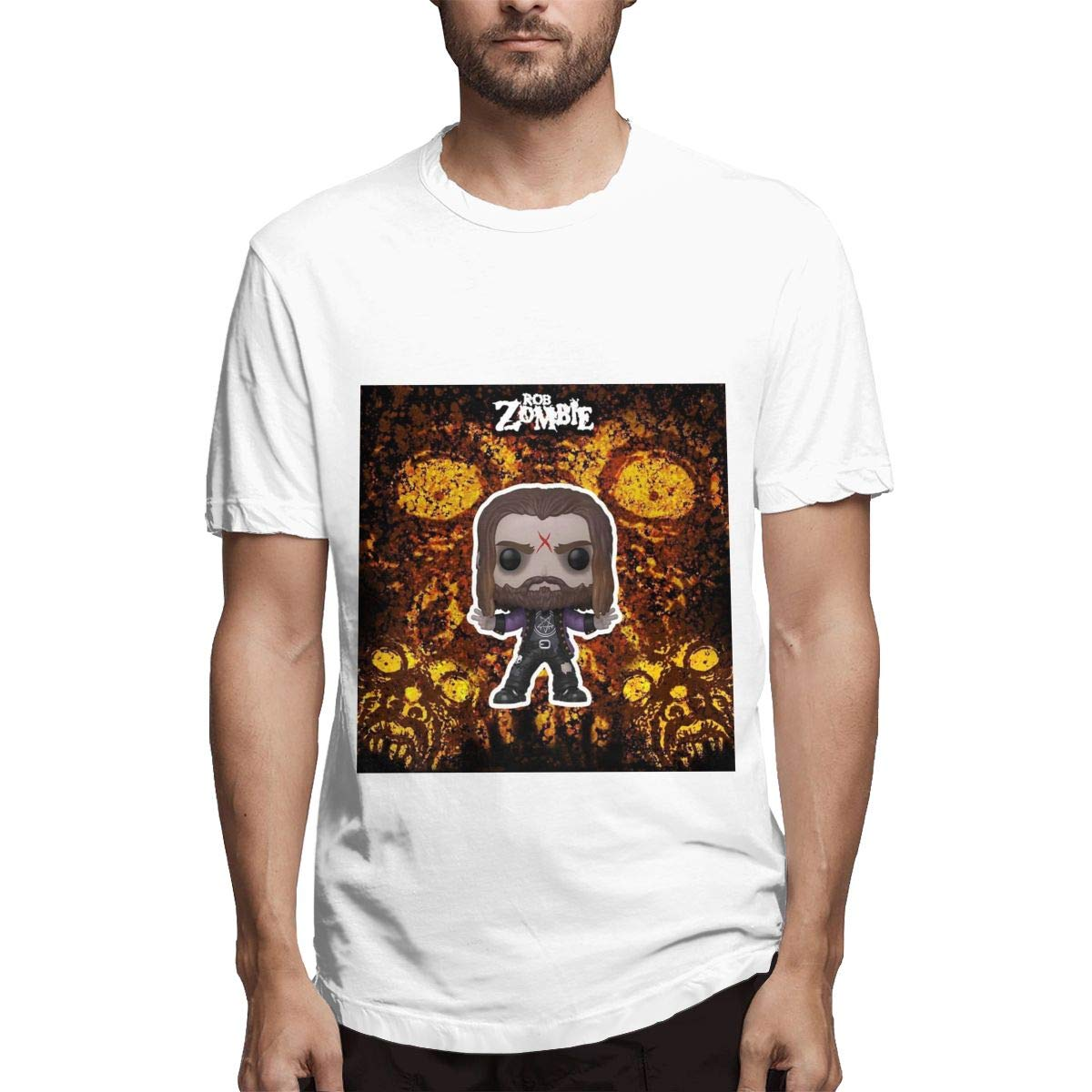 Lihehen Man Michael Myers Simple Casual Round Neck T Shirts