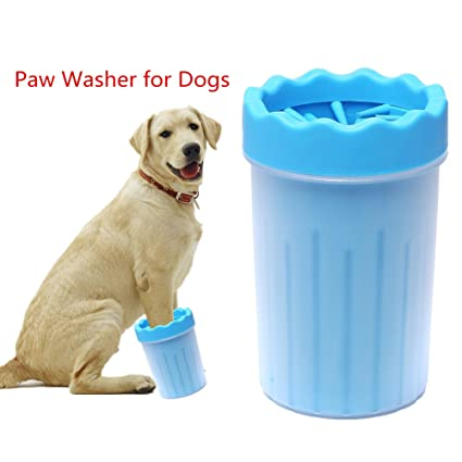 7748a1a4f1 : Amazon.com: FULNEW Portable Dog Paw Cleaner Pet Feet Washer Pet Cleaning  Brush Cup for Dogs Cat Grooming
