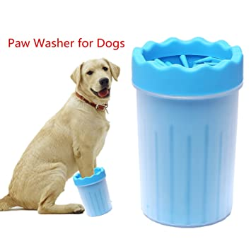 Amazon Com Fulnew Portable Dog Paw Cleaner Pet Feet Washer Pet