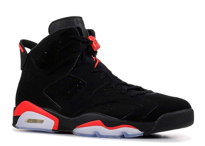 7308b4fc6d7 Amazon.com | Nike Air Jordan 6 Retro OG Black/Infrared 2019 384664 060 ( Men's US 11) | Basketball