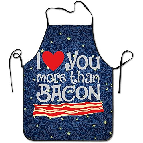 Funny I Love You More Than Bacon Kitchen