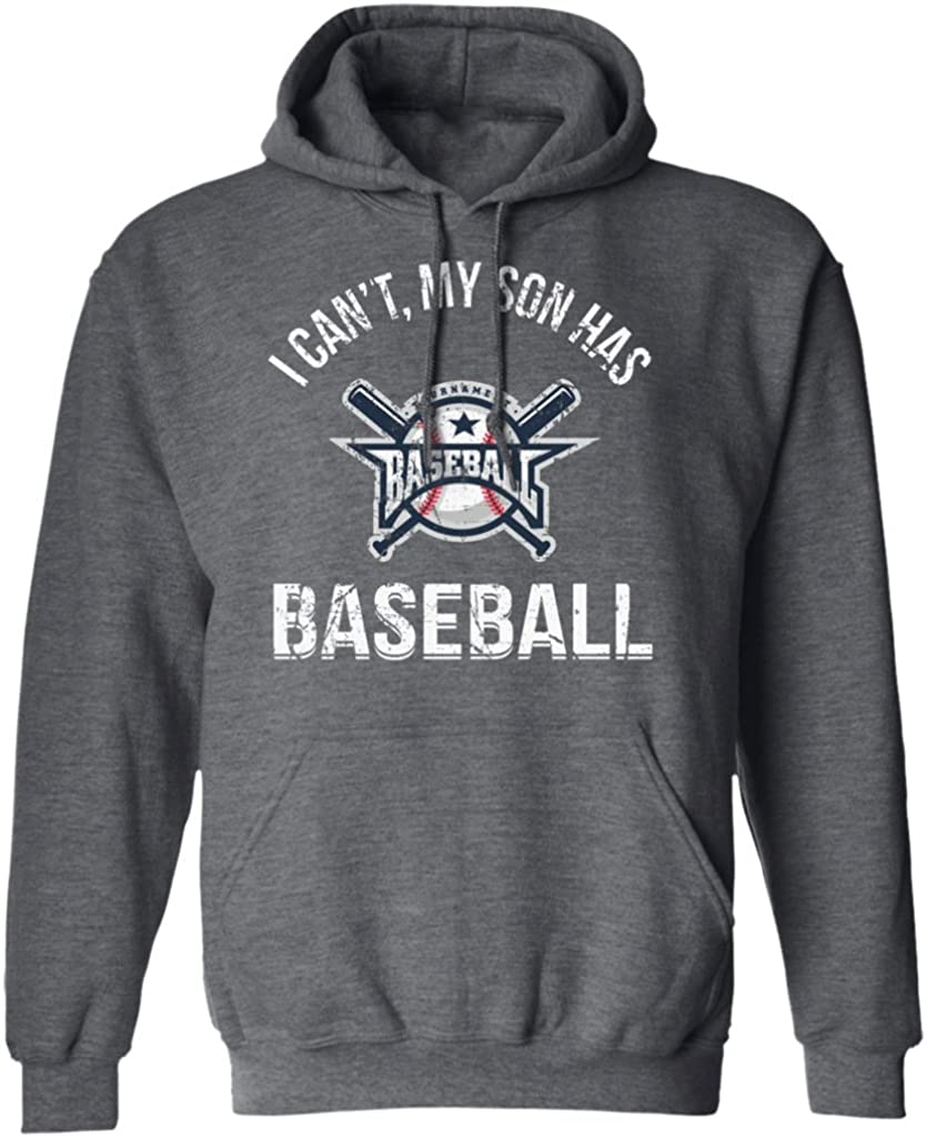 Pures Designs I Cant My Son Has Baseball Funny Baseball Player Gifts Sport Hoodie