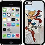 Coveroo Apple iPhone 5c Black Thinshield Case with Supergirl Bombshell, Full-Color Design