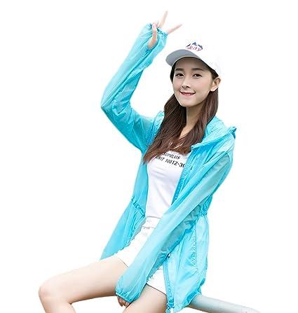 66375e10 Amazon.com : Aksautoparts Ultra-thin Beach Clothes Anti UV Jacket ...