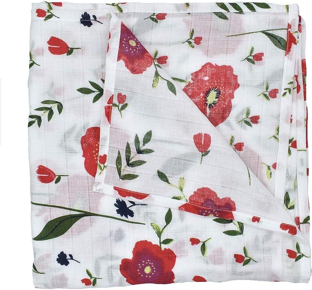 Miyanuby Muslin Swaddle Couvertures pour B/éb/é 120cmx120cm Couvertures d/'emmaillotage pour b/éb/é Parfait Cadeau Naissance