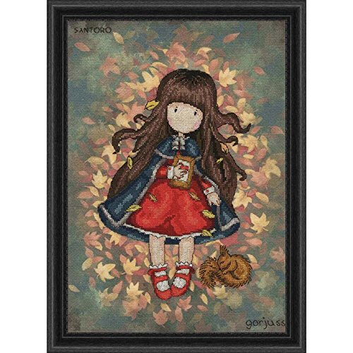 Bothy Threads Autumn Leaves Counted Cross-Stitch Kit