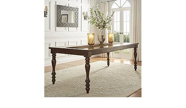 Amazon.com   Inspire Q Parisian Rectangular Extending Dining Table By  Classic   Tables