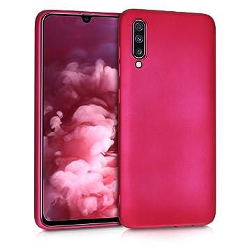 kwmobile 48430.65 Funda para teléfono móvil Rosa - Fundas para teléfonos móviles (Funda, Samsung, Galaxy A70, Rosa)