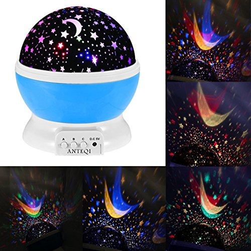 Sun And Star 360 Degree Romantic Room Rotating Cosmos Star Projector