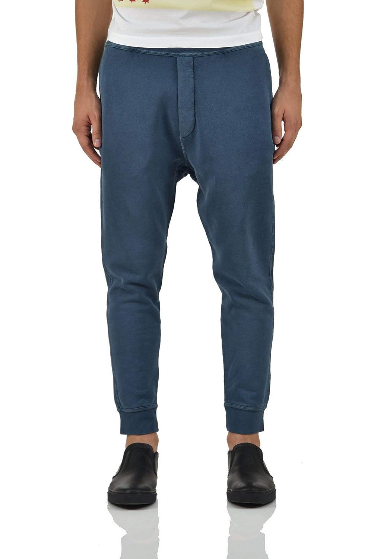 Size: S DSQUARED2 Tracksuit Pants Blue Men Color: Blue New