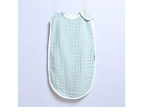 Saco de dormir para niños Bebé recién nacido sin mangas de verano antideslizante saco de dormir