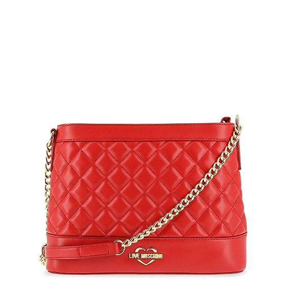 db52c4b9a70 Love Moschino - JC4203PP06KA Handbag Red  Amazon.co.uk  Clothing
