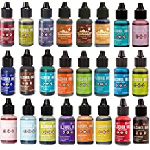 Tim Holtz Adirondack Alcohol Ink 24 bottle Mega Set