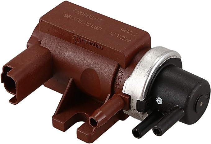 Domilay/V/áLvula Solenoide de Presi/óN Turbo V/áLvula de Refuerzo del Turbocompresor 9652570180 para Peugeot Citroen