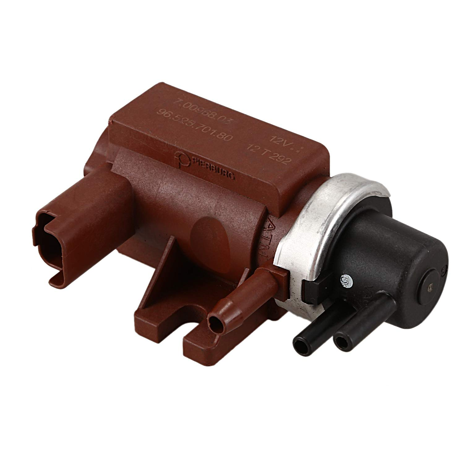 WOVELOT Turbo Pressure Solenoid Valve,Turbocharger Boost Valve 9652570180 for