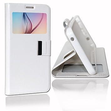 LG G4 Stylus H635 funda funda carcasa Blanco by PH26: Amazon ...