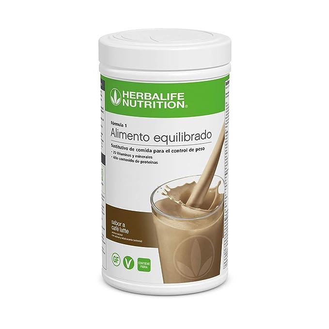 Batido Fórmula 1 550g - (Café Latte)   Herbalife