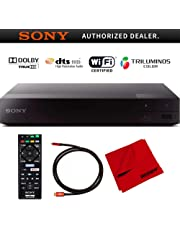 $99 » Sony BDP-S3700 Streaming Blu-ray Disc Player with Wi-Fi and Dolby TrueHD Audio Bundle with Deco Gear 6 ft High Speed HDMI 2.0 Cable and Microfiber TV Screen Cloth