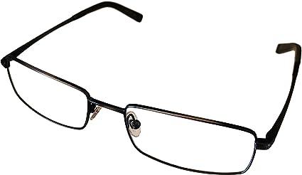 John Varvatos Designer Eyeglasses V130 in Antique-Pewter 54mm DEMO LENS