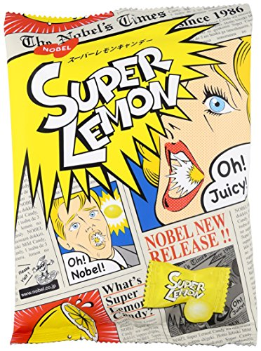 Sour Lemon Candy (Japanese Extreme Super Sour Lemon Flavored 3 Layered Intense Candy Challenge)