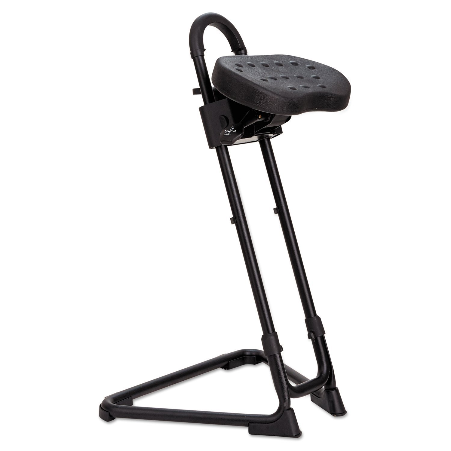 Amazon.com Alera Plus SS600 SS Series Sit/Stand Adjustable Stool Black Kitchen u0026 Dining  sc 1 st  Amazon.com : sit and stand stool - islam-shia.org