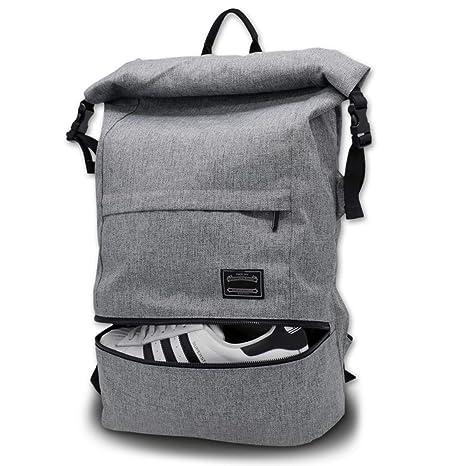 45736ee9e Travel Laptop Backpack, ITSHINY Rucksack Anti-Theft Laptop Bag Roll Top  School Bag Water
