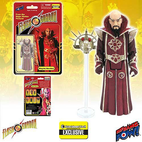 Flash Gordon Ming in Red Robe 3 3/4-Inch Figure - EE Excl.