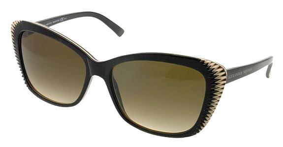 Alexander McQueen Sunglasses AMQ 4178/S BROWN RCQCC AMQ4178/S: Alexander  McQueen: Amazon.ca: Shoes & Handbags