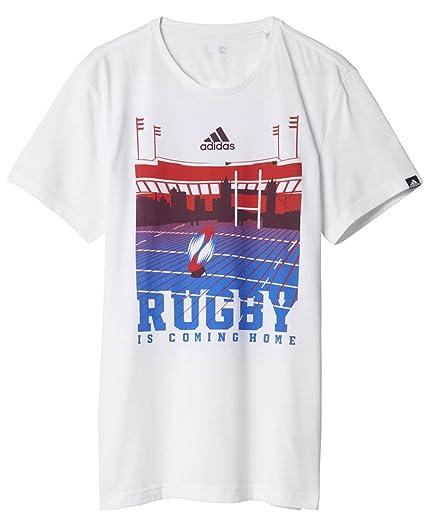 adidas London – Camiseta de Manga Corta para Hombre, Camiseta, Hombre, Color Blanco