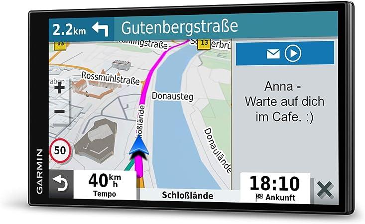Garmin Drivesmart 65 Mt D Eu Navi Extra Large Touch Display 3d Navigation Maps And Live Traffic Navigation Car Hifi